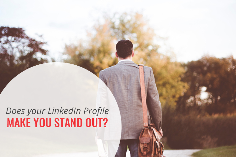 Does your LinkedIn profile make you stand out in the crowd? Who is your crowd? Are you afraid you will get overlooked? [Watch my video] for 2 tips that will get you noticed!