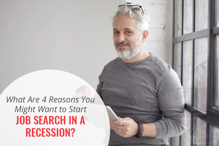Job search in a recession